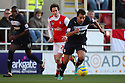 Filipe Morais of Stevenage starts an attack. Rotherham United v Stevenage - FA Cup 1st Round - New York Stadium, Rotherham - 3rd November 2012. © Kevin Coleman 2012.