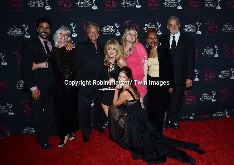 oung and Restless Makeup winners and Stafford attend the 40th Annual Daytime Creative Arts Emmy Awards on June 14, 2013 at the Westin Bonaventure Hotel in Los Angeles, California.