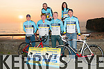 Scenic Challenge Cycle: Members of the Kerry Crusaders cycling club pictured in Ballybunion to launch the Scenic Challenge Cycle of 90km or 60km to be held on 12th April. Front : Dave Collins, Dominic Moloney, Paul Hayes & Alfred McDonnell. Back : Kieran & Bernie Kennelly.