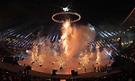 Fireworks. Opening Ceremony. Pyeongchang2018 winter Olympics. Olympic stadium. Pyeongchang. Republic of Korea. 09/02/2018. ~ MANDATORY CREDIT Garry Bowden/SIPPA - NO UNAUTHORISED USE - +44 7837 394578