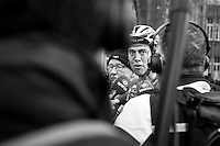 Niki Terpstra (NED/Quick-Step Floors) interviewed after finishing<br /> <br /> 72nd Omloop Het Nieuwsblad 2017