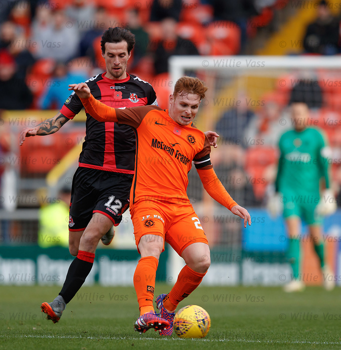 Fraser Fyvie and Declan Caddell