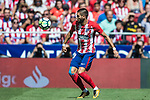 Yannick Ferreira Carrasco of Atletico de Madrid in action during the La Liga 2017-18 match between Atletico de Madrid and Sevilla FC at the Wanda Metropolitano on 23 September 2017 in Wanda Metropolitano, Madrid, Spain. Photo by Diego Gonzalez / Power Sport Images