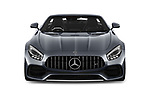 Car photography straight front view of a 2018 Mercedes Benz AMG GT base 2 Door Roadster