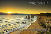 Tom Mackie, LANDSCAPES, LANDSCHAFTEN, PAISAJES, photos,+12, Australia, Great Ocean Road, NUMBERS, The Twelve Apostles, Tom Mackie, Worldwide, atmosphere, atmospheric, beach, beaches+, beautiful, coast, coastal, coastline, coastlines, gold, golden, holiday destination, horizontally, horizontals, ocean, peac+eful, restoftheworldgallery, scenery, scenic, sea, sea stack, sunrise, sunset, time of day, tourism, tourist attraction, tran+quil, tranquility, travel, vacation, water, water's edge, wave, waves, yellow,12, Australia, Great Ocean Road, NUMBERS, The T+,GBTM160045-1,#l#