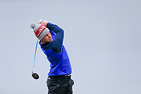 Alex Gleeson (Castle) during the final of the 2018 West of Ireland, in Co Sligo Golf Club, Rosses Point, Sligo, Co Sligo, Ireland. 03/04/2018.<br />