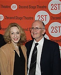 Jan Maxwell, John Doyle (Director) at the Off-Broadway Opening night of Second Stage Theatre's production of Wings on October 24, 2010 in New York City, NY with the after party at HB Burger. (Photo by Sue Coflin/Max Photos)