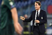 Roberto Mancini coach of Italy <br /> Roma 12-10-2019 Stadio Olimpico <br /> European Qualifiers Qualifying round Group J <br /> Italy - Greece <br /> Photo Andrea Staccioli/Insidefoto