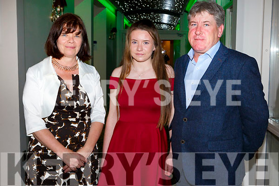 Betty Cooney, Siobhan Cooney and Martin Cooneyat the Kerry Ladies Gaelic Football Association Awards in The Rose Hotel on Saturday night.