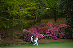 Bubba Watson during the fourth round of the 2014 Masters held in Augusta, GA at Augusta National Golf Club on Sunday, April 13, 2014.