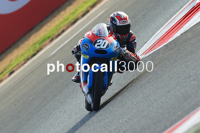 FIM CEV REPSOL in Navarra during the Spanish Championship 2014.<br /> Los Arcos, navarra, spain<br /> September 07, 2014. <br /> Moto3<br /> fabio quartararo<br /> PHOTOCALL3000/ RME