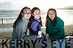 Celebration of Light in aid of recovery Haven on BALLYHEIGUE  beach on Monday were, Hannah Ashe, Leana Ashe and Ciara Ashe from Massachusetts staying here for the summer