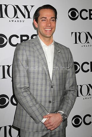 NEW YORK, NY - MAY 4: Zachary Levi at the 2016 Tony Awards Meet the Nominees Press Junket in New York, New York on May 4, 2016. Photo Credit: Rainmaker Photo/MediaPunch