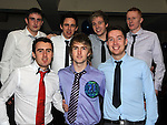 Mark Cluskey celebrating his 21st birthday in the Star and Crescent with friends Alex Reilly, Ciaran Duffy, Tyrone Reilly, Matthew O'Neill, Luke Mullen and Andrew Murphy. Photo: Colin Bell/pressphotos.ie