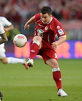 FUSSBALL 1. BUNDESLIGA   SAISON   2012/2013: RELEGATION   RUECKSPIEL 1. FC Kaiserslautern - TSG 1899 Hoffenheim         27.05.2013 Alexander Baumjohann (1. FC Kaiserslautern)  Einzelaktion am Ball