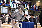 12 February 2017: Duke's Lindsay Sapienza during Saber. The Duke University Blue Devils hosted the University of North Carolina Tar Heels at Card Gym in Durham, North Carolina in a 2017 College Women's Fencing match. Duke won the dual match 14-13 overall and 7-2 in Epee. UNC won Foil 6-3 and Saber 5-4.