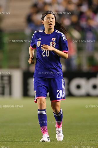Yuri Kawamura (JPN), <br /> MAY 6, 2014 - Football /Soccer :  <br /> International friendly match<br /> between Japan 2-1 New Zealand <br /> at Kincho Stadium, Osaka, Japan. (Photo by Yohei Osada/AFLO SPORT)