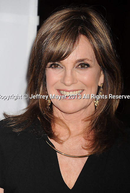 CENTURY CITY, CA- MAY 03: Actress Linda Gray arrives at the 20th Annual Race To Erase MS Gala 'Love To Erase MS' at the Hyatt Regency Century Plaza on May 3, 2013 in Century City, California.