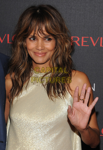 NEW YORK, NY - DECEMBER 1: Halle Berry at Revlon's 2nd Annual Love Is On Million Dollar Challenge Finale Party at The Glasshouses in New York City on December 1, 2016. <br /> CAP/MPI/JP<br /> &copy;JP/MPI/Capital Pictures