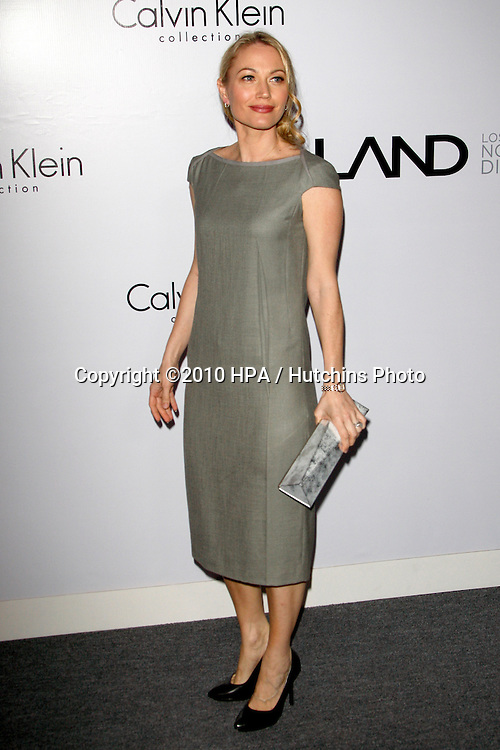 Sarah Wynter.arriving at the Calvin Klein collection and LOS ANGELES NOMADIC DIVISION Present a Celebration of L.A. ARTS MONTH.Calvin Klein Store.Los Angeles, CA.January 28, 2010.©2010 HPA / Hutchins Photo....