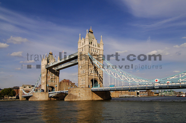 Tower Bridge, River Thames, London, United Kingdom, Great Britain.