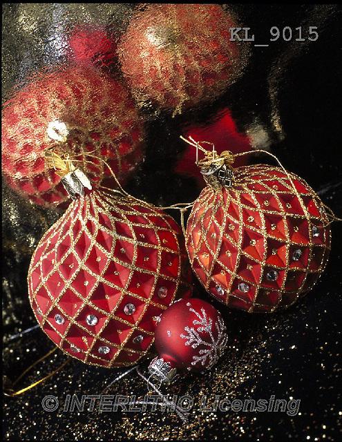 Interlitho, CHRISTMAS SYMBOLS, WEIHNACHTEN SYMBOLE, NAVIDAD SÍMBOLOS, photos+++++,red balls,mirror,KL9015,#xx#