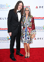 "LOS ANGELES, CA, USA - OCTOBER 11: ""Weird Al"" Yankovic, Suzanne Krajewski arrives at the Children's Hospital Los Angeles' Gala Noche De Ninos 2014 held at the L.A. Live Event Deck on October 11, 2014 in Los Angeles, California, United States. (Photo by Xavier Collin/Celebrity Monitor)"