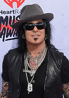 Nikki Sixx @ the 2016 iHeart Radio Music awards held @ the Forum.<br /> April 3, 2016