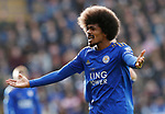 Hamza Choudhury of Leicester City during the Premier League match against Chelsea at the King Power Stadium, Leicester. Picture date: 1st February 2020. Picture credit should read: Darren Staples/Sportimage