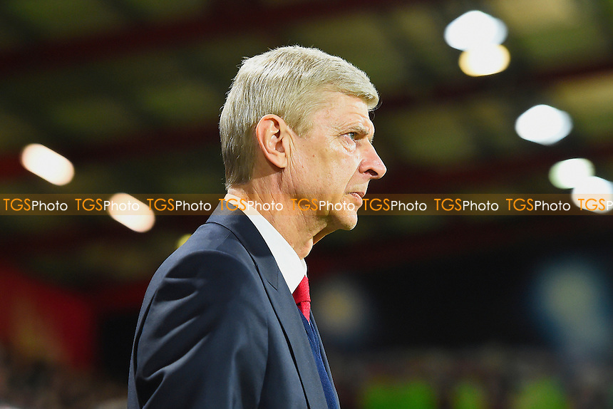 Arsenal Manager Arsene Wenger during AFC Bournemouth vs Arsenal, Premier League Football at the Vitality Stadium on 3rd January 2017