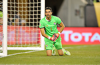 Philadelphia, PA - Tuesday June 14, 2016: Claudio Bravo during a Copa America Centenario Group D match between Chile (CHI) and Panama (PAN) at Lincoln Financial Field.