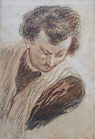 BNPS.co.uk (01202 558833)<br /> Pic: SalonDuDessin/BNPS<br /> <br /> Antoinne Watteau 'Jeune homme en buste'<br /> <br /> A exhibition reveals the brilliant technique behind some of the worlds greatest artists - as their stunning drawings come up for auction.<br /> <br /> Preparatory sketches are for most people nowadays the only way to ever own an original work by a famous artist and more than 1,000 drawings from some of the world's most famous have emerged on the market.<br /> <br /> The remarkable collection, which features drawings and preparatory sketches by Henri Matisse, Pablo Picasso, Edgar Degas and Salvador Dali, will be showcased at the six-day Salon Du Dessin exhibition in Paris in March.<br /> <br /> Notable works are tipped to sell for hundreds of thousands of euros and the overall value of the collection is estimated at 25-30 million euros.<br /> <br /> Drawings have become increasingly collectible in the past 10 years as they are seen as a more affordable way of getting hold of works from the art greats.<br /> <br /> Included in the sale are Matisse's 1944 drawing of 'apples' with pen and ink on paper, Degas' 'dancer' with charcoal on paper, Picasso's 'women with flowers' with pen and red pencil on paper and Dali's 'Madonna with Christ' using watercolour, ink and a ball-point pen.<br /> <br /> Degas' sketch of a dancer bares a striking resemblance to his famous sculpture of The Little Fourteen-Year-Old Dancer in 1881.