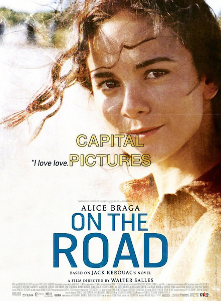 AMERICAN POSTER ART featuring Alice Braga.in On the Road (2012) .*Filmstill - Editorial Use Only*.CAP/FB.Supplied by Capital Pictures.