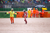10th September 2017, Misano World Circuit, Misano Adriatico, San Marino; San Marino MotoGP, Sunday Race Day;  JORGE LORENZO - SPANISH - DUCATI TEAM - DUCATI after rashing out