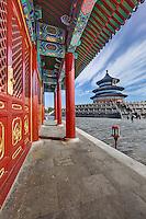 Temple of Heaven, Forbidden City, Beijing, China