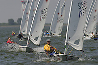20th SPA Regatta - Medemblik.26-30 May 2004..Copyright free image for editorial use. Please credit Peter Bentley.