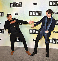 "LOS ANGELES - JANUARY 8: Mario and Brennin Hunt attend a press junket for FOX's ""RENT"" on the Fox Studio Lot on January 8, 2019 in Los Angeles, California. (Photo by Frank Micelotta/Fox/PictureGroup)"