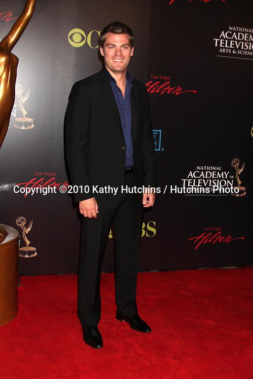 Jeff Branson.arrives at the  2010 Daytime Emmys.Las Vegas Hilton Hotel & Casino.Las Vegas, NV.June 27, 2010.©2010 Kathy Hutchins / Hutchins Photo.....
