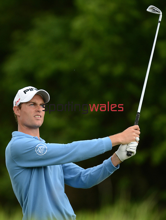 Rhys Davies (Wales) in action during todays round\..ISPS Handa Wales Open 2012 - Day 2 - Friday 1st June 2012 - Twenty Ten Course, Celtic Manor Resort - Newport - Wales - UK ..© www.sportingwales.com- PLEASE CREDIT IAN COOK