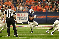 SAN ANTONIO, TX - OCTOBER 7, 2017: The University of Texas at San Antonio Roadrunners fall to the University of Southern Mississippi Golden Eagles 31-29 at the Alamodome. (Photo by Jeff Huehn)