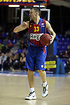 Sarunas Jasikevicius. FC Barcelona Regal vs Fenerbahce Ulker: 100-78 - Top 16 - Game 1.