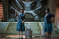 The Shape of Water (2017) <br /> Sally Hawkins &amp; Octavia Spencer<br /> *Filmstill - Editorial Use Only*<br /> CAP/MFS<br /> Image supplied by Capital Pictures