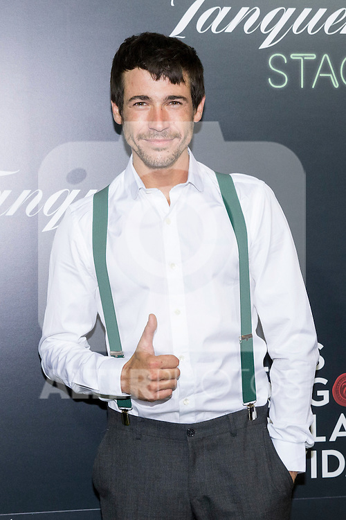 "Jose Ballesta during the premiere of ""Los tragos de la vida"" directed by Daniel Guzman at Infanta Isable theatre in Madrid. October 05, 2016. (ALTERPHOTOS/Rodrigo Jimenez)"