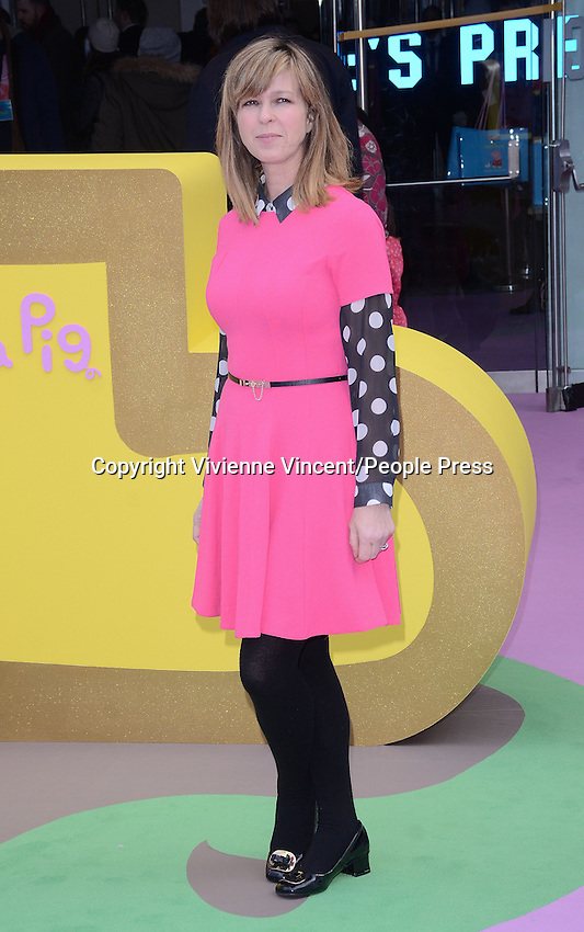 UK Premiere of 'Peppa Pig: The Golden Boots' at Odeon Leicester Square, London on February 1st 2015<br />