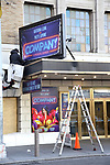"Theatre Marquee unveiling for ""Company"" starring Katrina Link and Patti LuPone at the Jacobs Theatre on December 13, 2019 in New York City."