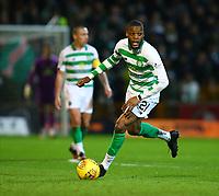 5th February 2020; Fir Park, Motherwell, North Lanarkshire, Scotland; Scottish Premiership Football, Motherwell versus Celtic; Olivier Ntcham of Celtic turns on the ball