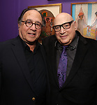 Leonard Majzlin and Henry Krieger attends the The Dramatists Guild Foundation's  dgf salon with Henry Krieger hosted by Leonard Majzlin on December 11, 2018 in New York City.