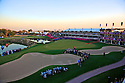 Prizegiving on the 18th green during the final round of the Commercial Bank Qatar Masters played at Doha Golf Club, Doha, Qatar. 21-24 January 2015 (Picture Credit / Phil Inglis)
