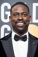 Nominated for BEST PERFORMANCE BY AN ACTOR IN A TELEVISION SERIES &ndash; DRAMA for his role in &quot;This Is Us,&quot; actor Sterling K. Brown arrives at the 75th Annual Golden Globes Awards at the Beverly Hilton in Beverly Hills, CA on Sunday, January 7, 2018.<br /> *Editorial Use Only*<br /> CAP/PLF/HFPA<br /> &copy;HFPA/Capital Pictures
