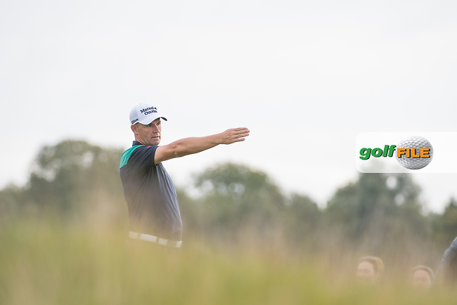 Padraig Harrington (IRL) in action on the 15th hole during the 1st round at the KLM Open, The International, Amsterdam, Badhoevedorp, Netherlands. 12/09/19.<br /> Picture Stefano Di Maria / Golffile.ie<br /> <br /> All photo usage must carry mandatory copyright credit (© Golffile   Stefano Di Maria)